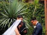 Wedding at the Marvimon House, Los Angeles