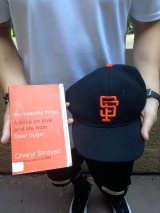 What Russell Wore, What I Read (at the Giants Game)