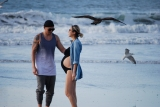Pregnant at theBeach