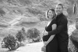 Maternity Photo Shoot at SutroBaths