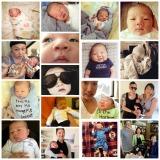 Baby Satski at OneMonth