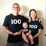 Baby Satski's 백일 (100th-Day)Celebration