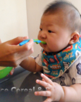 Baby Satski's First Solids