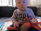 Baby Satski at NineMonths
